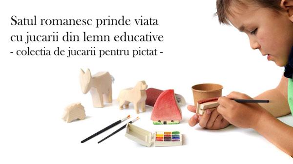 Jucarii educative din lemn