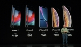 iPhone XR, iPhone XS, iPhone XS Max, si Apple Watch Series 4