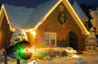 Pregateste-ti casa de sarbatoare cu un proiector cu laser